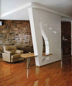 modern partition walls and room dividers to separate open living spaces