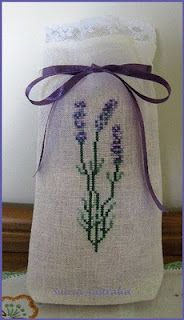 Lavander bag. I live not too far from the Young Living lavander farm.
