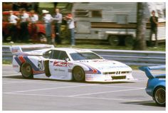 1981: Stuck in Norisring Schnitzer Turbo-M1 by Karsten Denecke