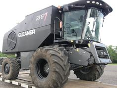 Gleaner combine. this thing looks like a monster