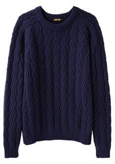 PETER JENSEN | Chunky Geelong Pullover | Shop @ La Garçonne
