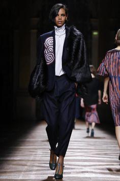 Dries Van Noten Ready To Wear Fall Winter 2014 Paris - NOWFASHION