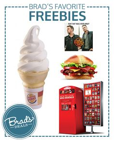 Favorite Freebies for 6/2! Burger King, Redbox, Jack in the Box, Suave and more