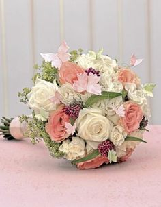 Brautsträuße Rosa - weddingstyle.de