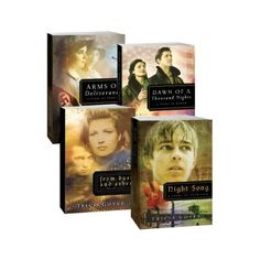 Four books for only $13.99! This set includes all four books of the Tricia Goyer WWII series: From Dust and Ashes, Night Song, Dawn of a Thousand Nights, and Arms of Deliverance.