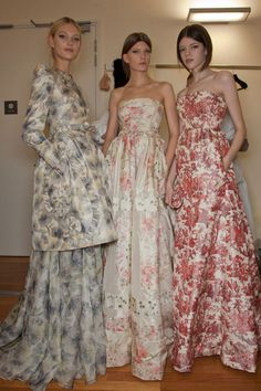 Valentino Couture Spring 2012 * Backstage