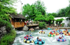 Enjoy bumper boats, mini golf, batting cages, pony rides, an awesome zip line, animal adventures and more.