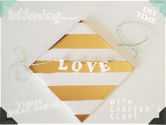 Some fun things I made with Crafter's Clay! http://theknottybride.com/32464#