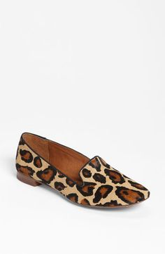 Seriously, been looking all over for some flats like this!!! Sam Edelman 'Alvin' leopard print Flat | Nordstrom #shoe