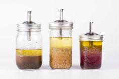 The Mason Tap is a high-quality, made in the USA, stainless steel infuser lid that transforms any regular mouth jar into the perfect vessel for infusing.