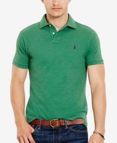 POLO RALPH LAUREN Polo Ralph Lauren Men S Slim-Fit Mesh Polo Shirt.   poloralphlauren 25fe8ff47559d
