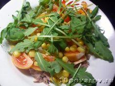 ПП салат с тунцом на ужин Seaweed Salad, Ethnic Recipes, Food, Meals