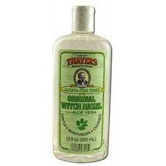 Thayers Witch Hazel with Aloe Vera Original Alcohol Free -- 12 fl oz