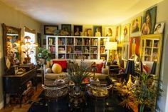 Libby Callaway – Media Consultant at home in Nashville « the selby, lucite chairs + gallery wall