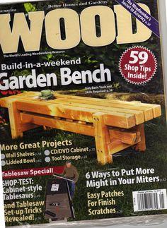 Better Homes Gardens Wood Magazine November MAGAZINE BACK - Better homes and gardens wood magazine