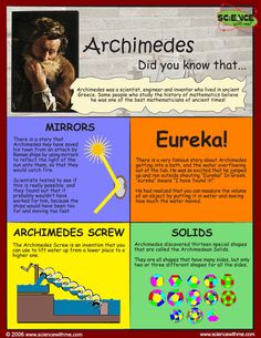 Archimedes discovered the physics of displacement while in a ...