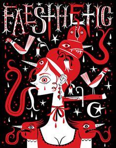 Faesthetic is the ultimate art zine! Doodle, Art Zine, Lowbrow Art, Pop Surrealism, Magazine Art, Character Design Inspiration, Design Art, Graphic Design, New Art