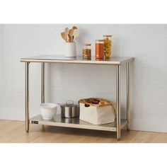 Trinity EcoStorage Stainless Steel Table #Trinity
