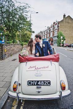 Intimate English Wedding