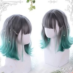 Pelo Lolita, Lolita Hair, Kawaii Hairstyles, Pretty Hairstyles, Wig Hairstyles, Casual Hairstyles, Medium Hairstyles, Latest Hairstyles, Cosplay Hair