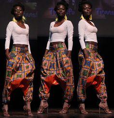 Ohh those pants. ~Latest African Fashion, African Prints, African fashion styles, African clothing, Nigerian style, Ghanaian fashion, African women dresses, African Bags, African shoes, Kitenge, Gele, Nigerian fashion, Ankara, Aso okè, Kenté, brocade. ~DK