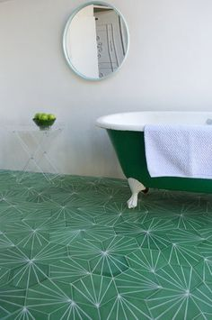 oh my goodness, this tile is amazing (although not that particular color of it).