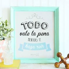 Todo vale la pena... - Comprar en MARQUITOS — MARQUITOS Ideas Aniversario, Cute Phrases, Diy And Crafts, Lettering, Words, Quotes, Inspiration, Home Decor, Simple Paintings