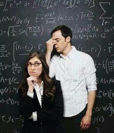 """ (Amy Farrah Fowler and Sheldon Cooper - The Big Bang Theory) The Big Theory, Big Bang Theory Funny, The Big Bang Therory, Tbbt, Sheldon Amy, Amy Farrah Fowler, Johnny Galecki, Mayim Bialik, Jim Parsons"