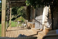 Mas du Naoc, a stylish Bed and Breakfast near Grasse on the Côte d'Azur. Also have a flat that can be rented for the week during summer