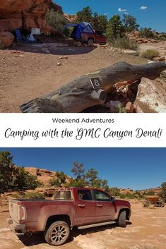 Weekend Adventures – Camping with the GMC Canyon Denali