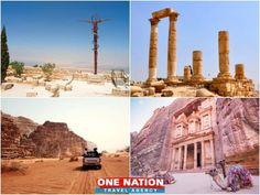 5 Days Magical Jordan Tour Package Petra Tours, Jordan Tours, Moon Hotel, International Flight Tickets, Hotel Meeting, Downtown Hotels, Rose City, Wadi Rum, Airport Hotel
