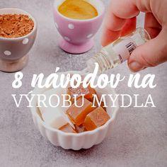 Ako si vyrobiť kokosový peeling s mandľovým olejom a nechtíkom - Šperkovo. Soap, Herbs, Cosmetics, Homemade, Macrame, Beauty Products, Herb, Hand Made, Soaps