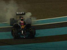 JB donuts last race of 2014.... Let's hope not last race in F1 .....