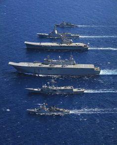 Formación de Buques de la Armada (made in España)