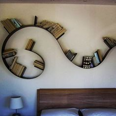 Metal curved shelving: Bookworm kartell#2 via Andrea Angioletti ...