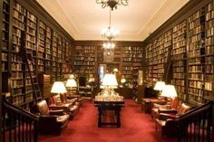 The Harvard Club. Up on the second floor of the McKim, Mead, & White-designed Harvard Club is a beautiful library with over 30,000 books. It's only available to members and their guests, and you have to heed the dress code, so if you get in, just bask in the exclusive glory of this Midtown reading space and consider yourself privileged. ard Club.