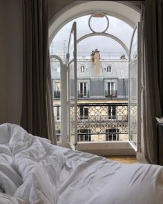 Paris December 04 2019 at Parisian Apartment, Dream Apartment, Paris Apartments, Home Living, Living Room Decor, Bedroom Decor, Night Bedroom, Nature Bedroom, City Bedroom