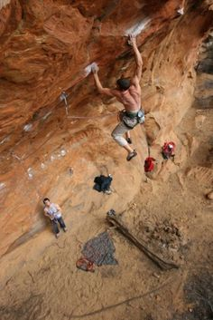 Rock climbing: I WANT TO DO THIS!