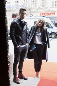 Prague Fashion Week Street Style. [Photo by Anna Kovačič]