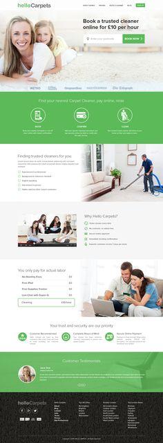 Homepage Mock-up Design for a Carpet Store. Page Design, Ui Design, Carpet Remnants, Flooring Near Me, Carpet Stores, Website Layout, Website Template, Ui Kit, Hallways