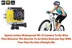 Win an Incredible 4K Action Camera with Accessories (10/23/2016)... sweepstakes IFTTT reddit giveaways freebies contests