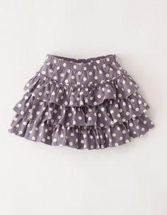 Spotty Ruffle Skirt