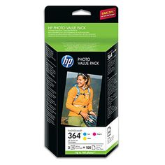 HP No.364 CH082EE 3-Colours Photo Value Pack