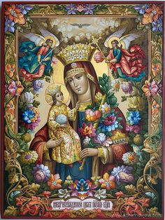 Mother Mary and Christ Religious Pictures, Religious Icons, Religious Art, Blessed Mother Mary, Blessed Virgin Mary, Madonna, Christian Artwork, Queen Of Heaven, Mary And Jesus