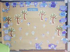 Bog Baby wall display Big Baby, How Big Is Baby, School Classroom, Classroom Ideas, Eyfs, Reception Ideas, Spring 2015, Display Ideas, Baby Ideas