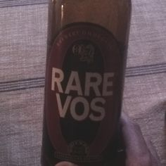 Rare Vos - Ommegang Brewery Amber ale, belgian style, on the lighter side (6.5%) - great for lighter fares