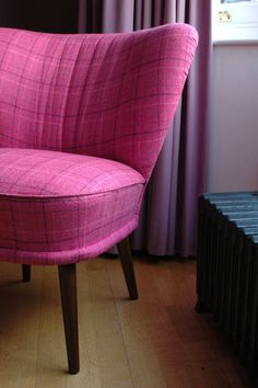 Lovely restored cocktail chairs from the 1950's by self.style www.selfstyle.com