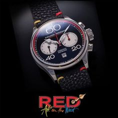 """Once Titian said: """"A good artist only needs three colours - black, white and red."""" We can only emphasise this statement with our Red Chronograph #alexandershorokhoff #avantgarde #chronograph #redchronograph #roterchronograph #redcollection #artonthewrist #kunstamhandgelenk #handwinding #handgraviert #chrono #redwatch #roteuhr #luxurywtach #luxusuhr #baselfair"""