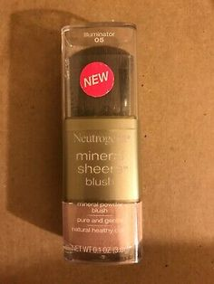 Neutrogena Mineral Sheers Blush - Illuminator 05 | eBay Nude Makeup, Summer Skin, Contouring And Highlighting, Neutrogena, Minerals, Fragrance, Blush, Skin Care, Pure Products