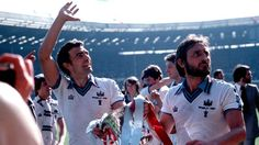 Trevor Brooking & Frank Lampard  FA CUP final 1980. West Ham 1-0 Arsenal.